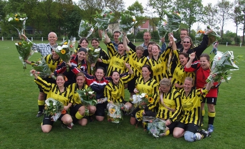 BVV Dames 1 2009-2010