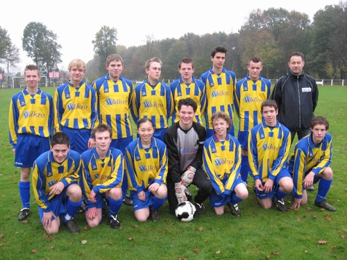 SV United B1CO najaar 2008